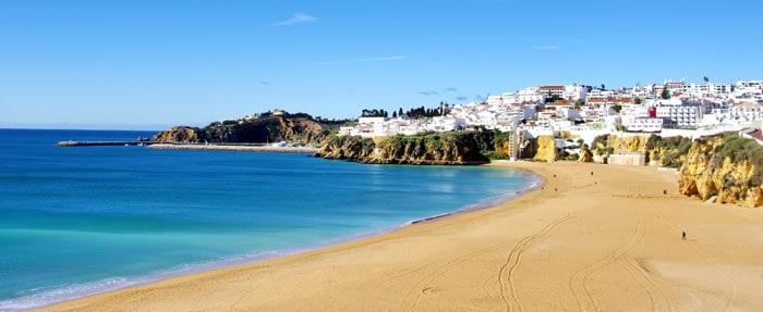 Albufeira ved Algarvekysten