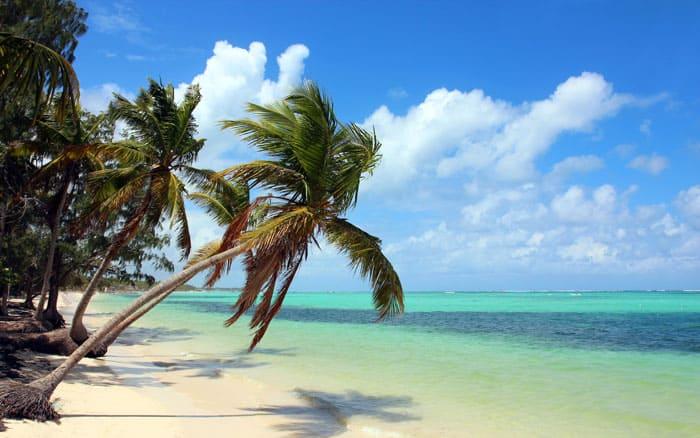 Bávaro Beach. En af verdens top 10 bedste strande.