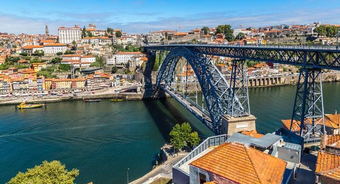 Dom Luis I - broen i Porto