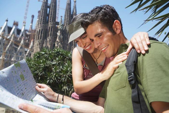 Besøg Sagrada Familia, når du planlægger din tur rundt i Barcelona
