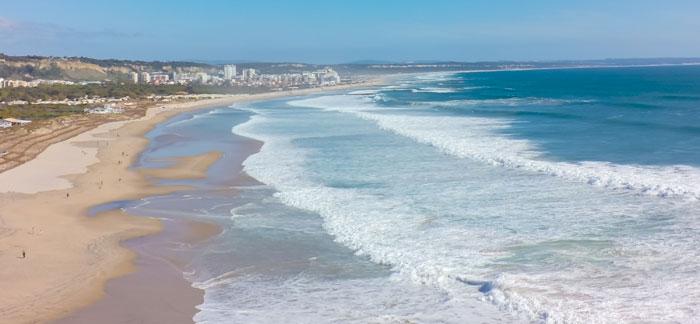 Costa da Caparica strand