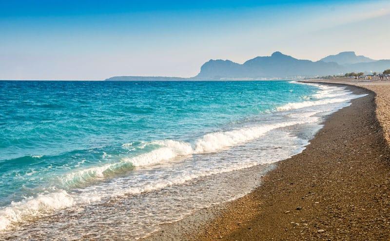Afandou stranden