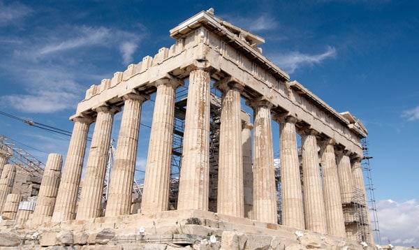 Akropolis er et 2.500 gammelt monument og bygningsværk