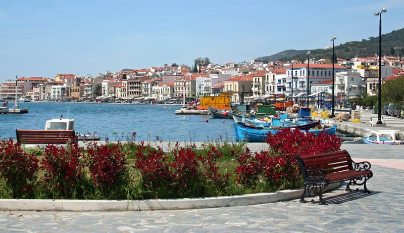 Samos havn