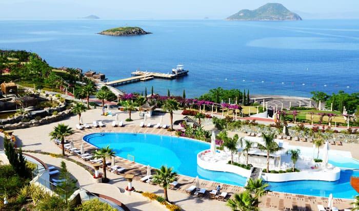 I Bodrum finder du både luksushoteller og lækre strande.