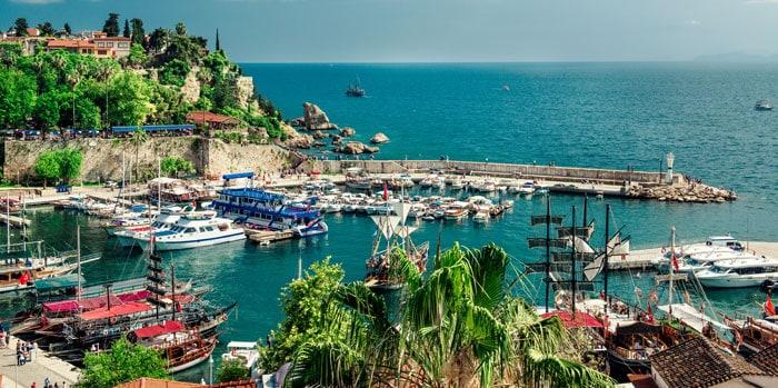 Havnen i Antalya